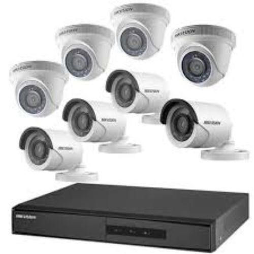 1080P CCTV Camera 4 Indoor + 4Outdoor Camera + 8Channel DVR