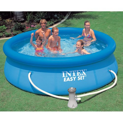 Home Easy Set Swimming Pool (1 Year Warranty) - Blue