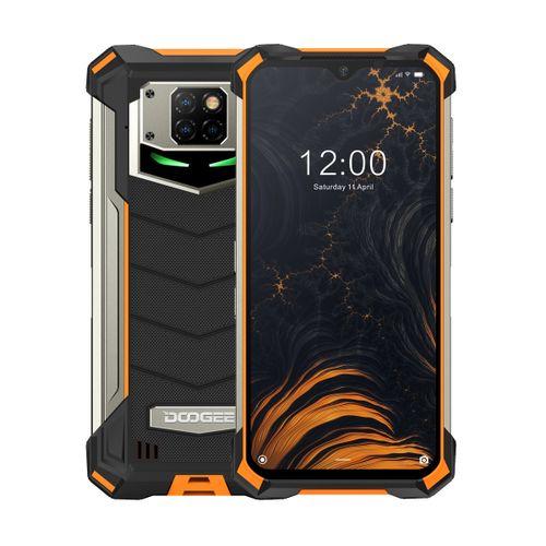 S88 Plus Rugged Phone 8GB+128GB 10000mAh Battery 6.3 Inch Android 10.0 Smartphone - Orange