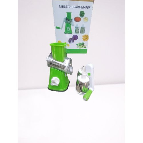 Multifuntional 3 In 1 Grater And Slicer(Light Green)