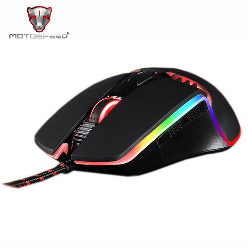 V20 Mouse Backlit LED For PC Programming 5000 DPI Gaming Mice