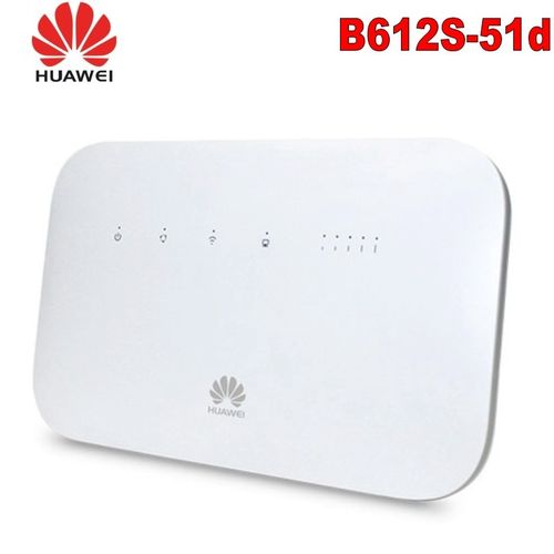 Huawei B612 B612s-51d Router 4G LTE Cat.6 300Mbs CPE Router 4G Wireless Router Antenna