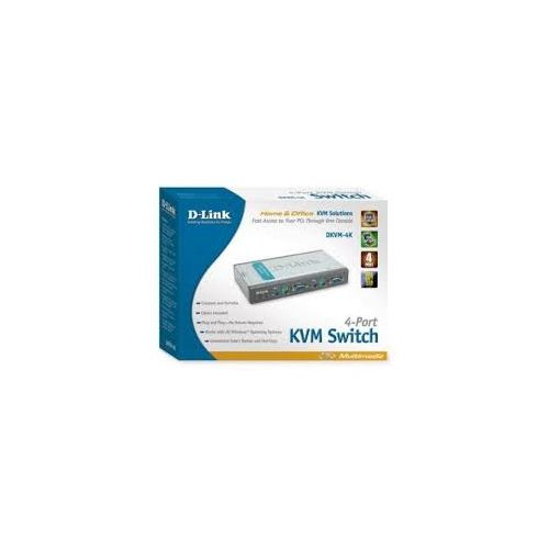 KVM SWITCH 4-PORTS
