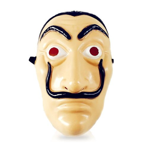 Face Mask La Casa De Papel Mask Salvador Dali Mascara Masque