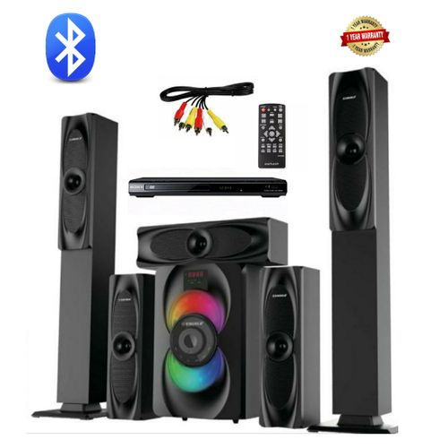Emgold Bluetooth Home Theater Sound System With Dvd