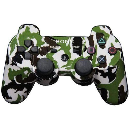 PS3 Controller Pad - DualShock 3 - Green Camo