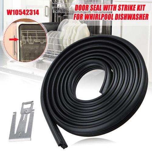 Door Sealing Gasket Kit W10542314 For Whirlpool Dishwasher PS5136129 AP5650274