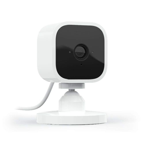 Mini – Compact Indoor Plug-in Smart Security Camera, 1080 HD Video, Motion Detection, Night Vision, Works With Alexa – 1 Camera