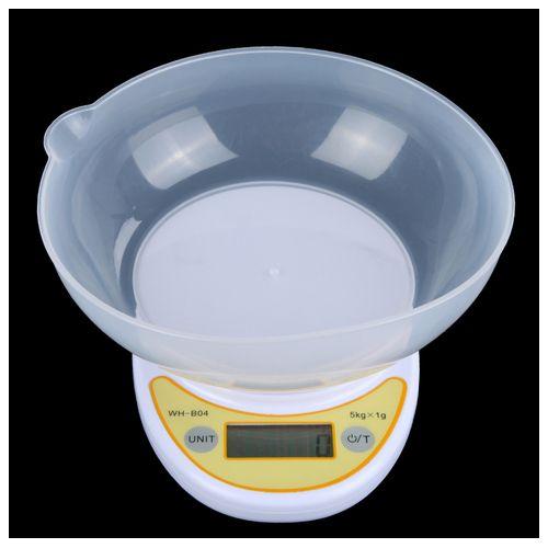 WEIHENG 5kg*1g Electronic LCD Display Mini Kitchen Scale Digital Food Weighing Balance - Intl