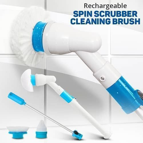 Rechargeable Hurricane Spin Scrubber Brush