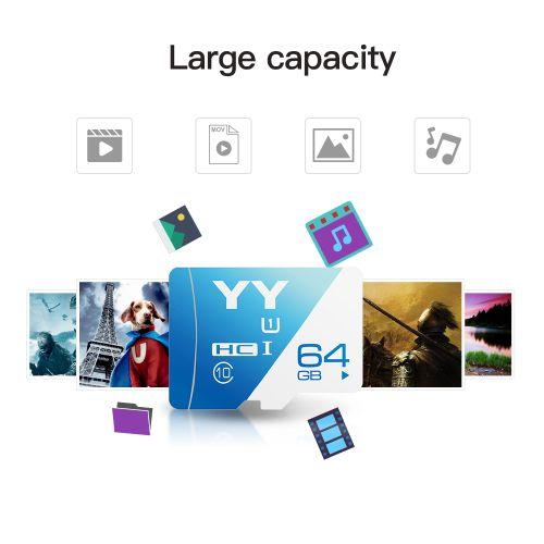 Memory Card 64GB Large Capacity Class 10 TF Card Flash TF