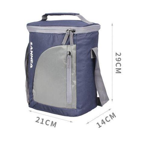 SANNEA Back To School Insulated Lunch Bag NavyBlue