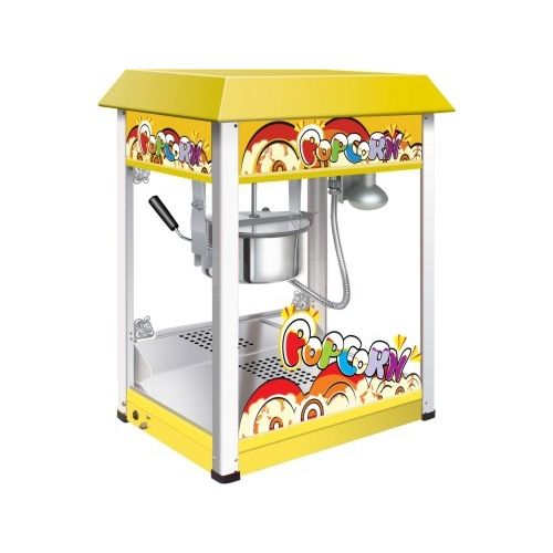 Commercial Electric Yellow Popcorn Machine