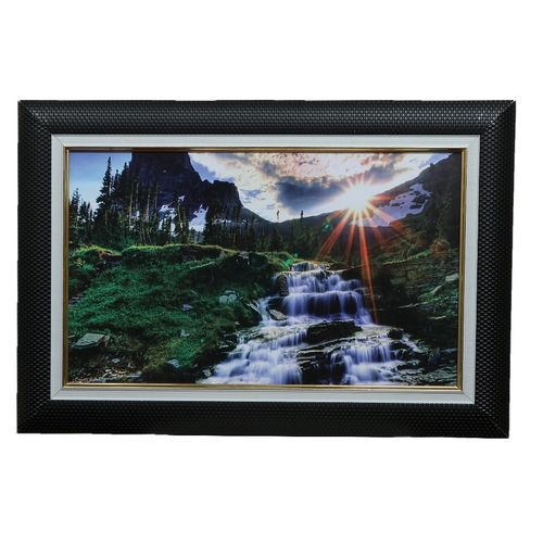 Water Fall Picture Wall Frame Decoration