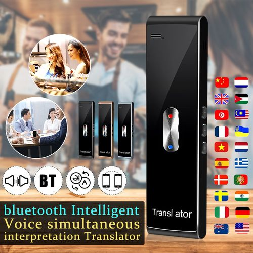 Smart Voice Translator 40 Language Bluetooth 2-Way Real Time For Android IOS