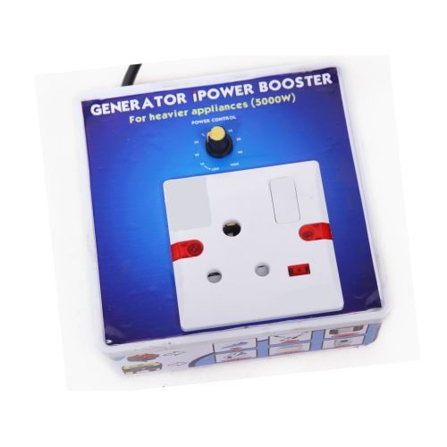 Generator Power Booster For Heavy Appliances