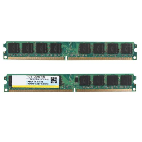 1GB DDR2 533MHZ 240pin PC2-4200 Desktop Computer DDR2 Universal RAM Memory Compatible With Intel / AMD Motherboards