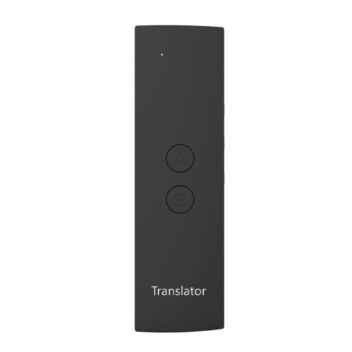 T6 Portable Voice Translator Wireless Translation Machine Black