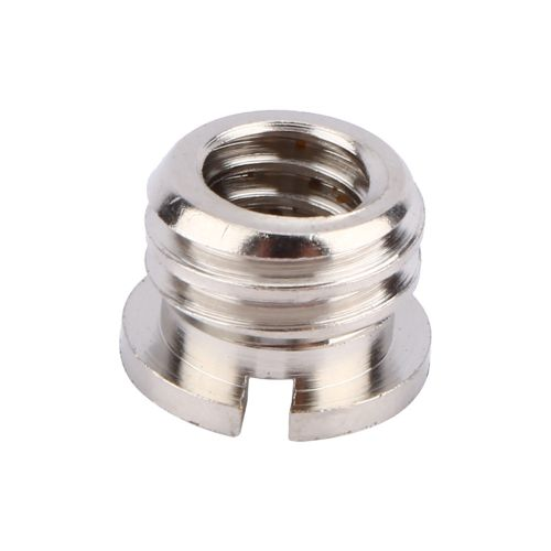 Puluz Female 1/4 To Male 3/8 Convert Screw Adapter For Tripod Monopod Ballhead DSLR SLR Camera