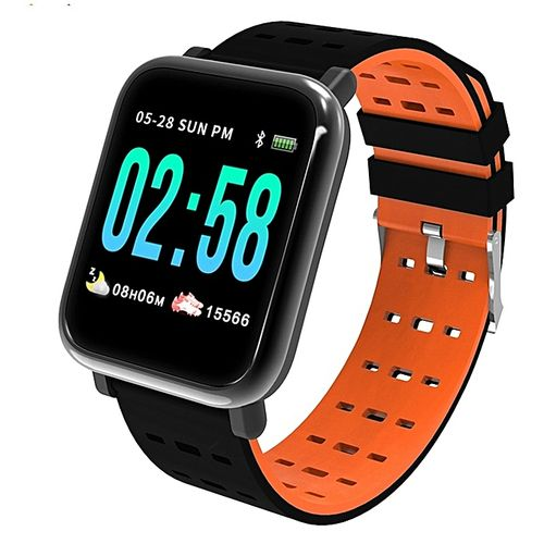 Smart Watch With Heart Rate And BP Monitoring