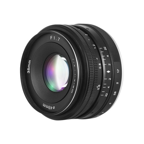 35mm F1.7 Large Aperture Manual Prime Fixed Lens For Sony
