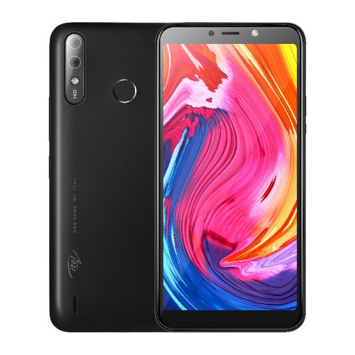 A56 5.99-Inch Android 9 Pie (16GB ROM 1GB RAM), 8MP + 5MP Camera, 4000mAh Battery Fingerprint & Face ID - Black