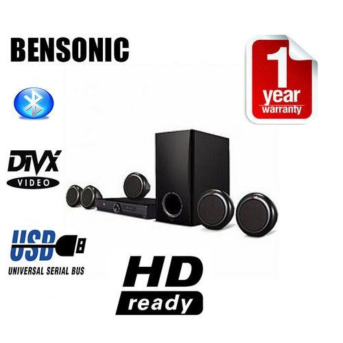Bluetooth Powerful Home Theater Sound System