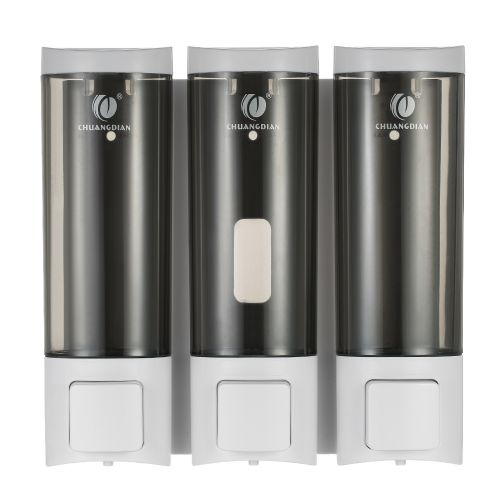 CHUANGDIAN Manual Soap Dispensers Wall-mounted Three