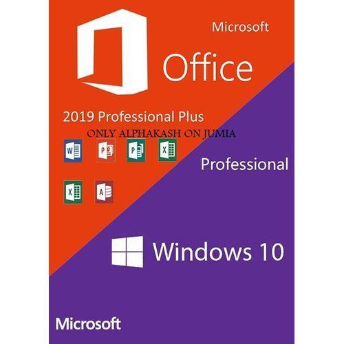 Windows10 Pro OEM + Office 2019 Professional Plus
