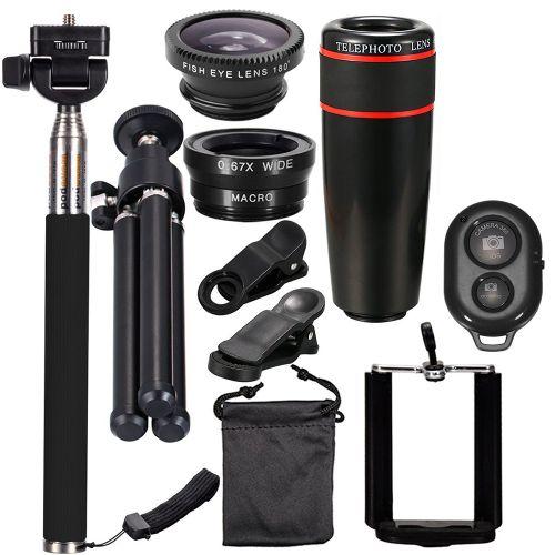 10PCS 8X Telephoto Mobile Phone Lens Universal Detachable