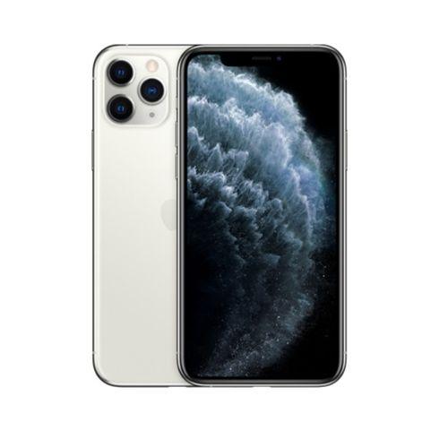 IPhone 11 Pro Max 6.5-Inch Super Retina XDR OLED (4GB RAM, 256GB ROM) DUAL -SIM ,iOS 13, (12MP+12MP+12MP)+12MP 4G LTE Smartphone - Silver