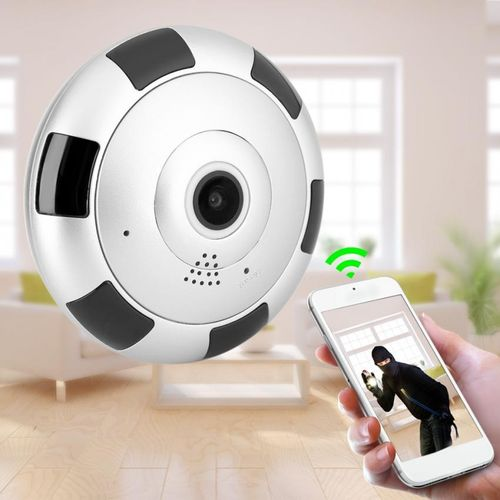 1080P HD Mini 360 Degree Panoramic Wifi Wireless Camera Night Vision Home Office Safety System