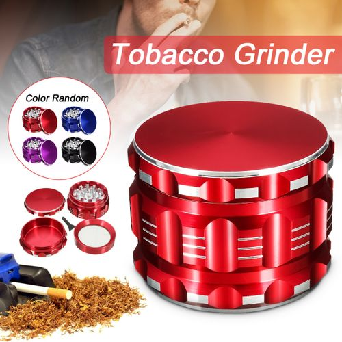 1 Pcs New Crusher Grinder 2.5 Inch 4 Piece Herb Spice Herbal Alloy (only One Color)