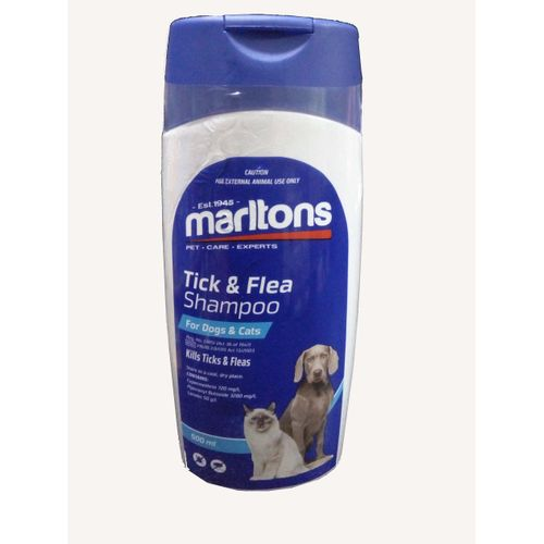 Tick And Flea Shampoo For Dogs And Cats
