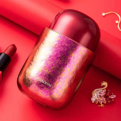 Lipstick Pure Titanium Water Bottle Vacuum Cup Insulated
