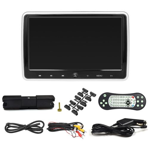 JD-1018D 10.1 Inches Car Headrest DVD Player Auto Monitor
