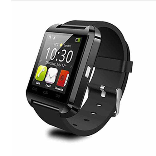 Bluetooth Smartwatch Sport Smart Reminder Watch - Black