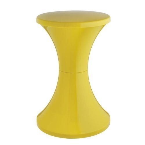 Plastic Stool - Yellow