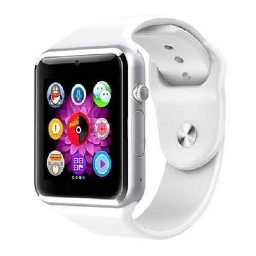 Smart Watch A1 Touch Screen GSM Bluetooth Wristwatch For Android Samsung Phones IOS Iphones - White