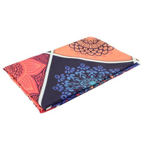 Modern Style Canvas Painting Mandala Tapestry Wall Hanging Art, Geometric Yoga Mat Dorm Tapestry