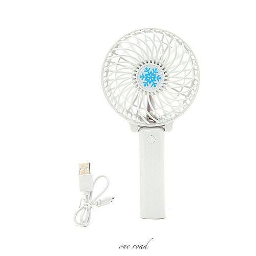 Hand-Held Fan Battery Charging Hand-Held Mini Fan Electric Personal Fan Pole Desktop Fan