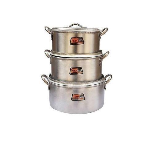Economy Cooking Pots - Set Of 3