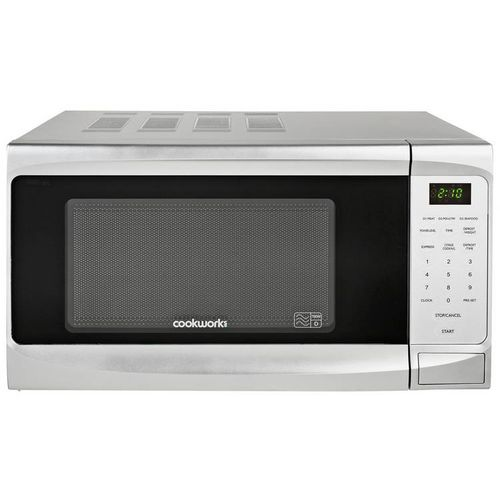700W Standard Microwave P70B - Silver