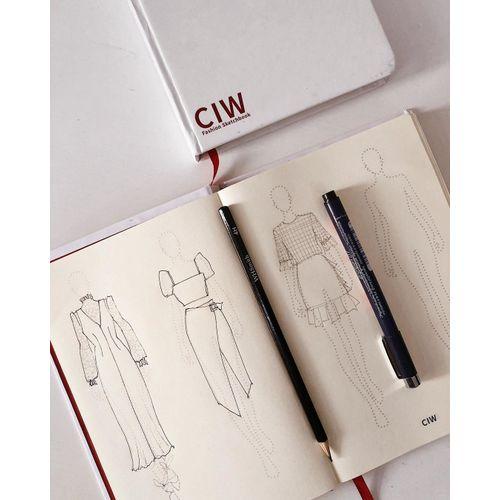 A5 Fashion Sketchbook For Women