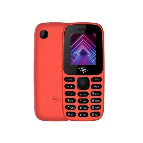 It2171 Wireless FM, Torch, Dual SIM Feature Phone - Red
