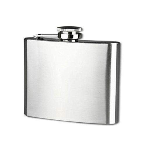 5 Oz Stainless Steel Pocket Hip Flask Alcohol Whiskey Liquor Screw Cap B