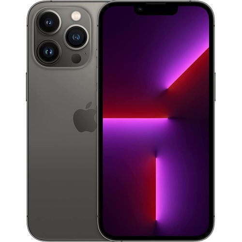 """IPhone 13 Pro Max 6.7"""" Super Retina XDR Display With ProMotion, (6GB RAM + 512GB ROM), IOS 15, 5G, FaceTime - Graphite"""