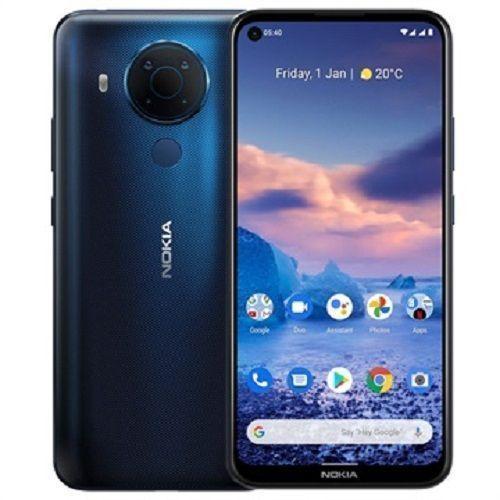 "5.4, 6.39"" HD+ (4GB RAM, 128GB ROM) Android 11 (48MP/5MP/2MP/2MP) + 16MP Selfie - Dual SIM - 4000mAh - Polar NightIBlue"