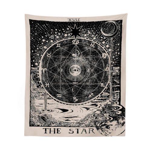 Astrology Tapestry Tarot Card Tapestry Moon Sun Tapestry