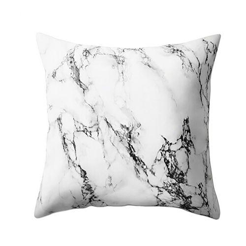 Checkeck Geometric Marble Texture Throw Pillow Case Cushion Cover Sofa Home Decor